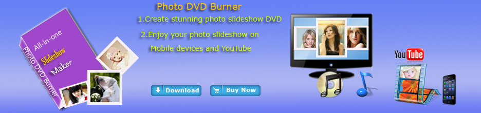 photo dvd burner-photo to slideshow